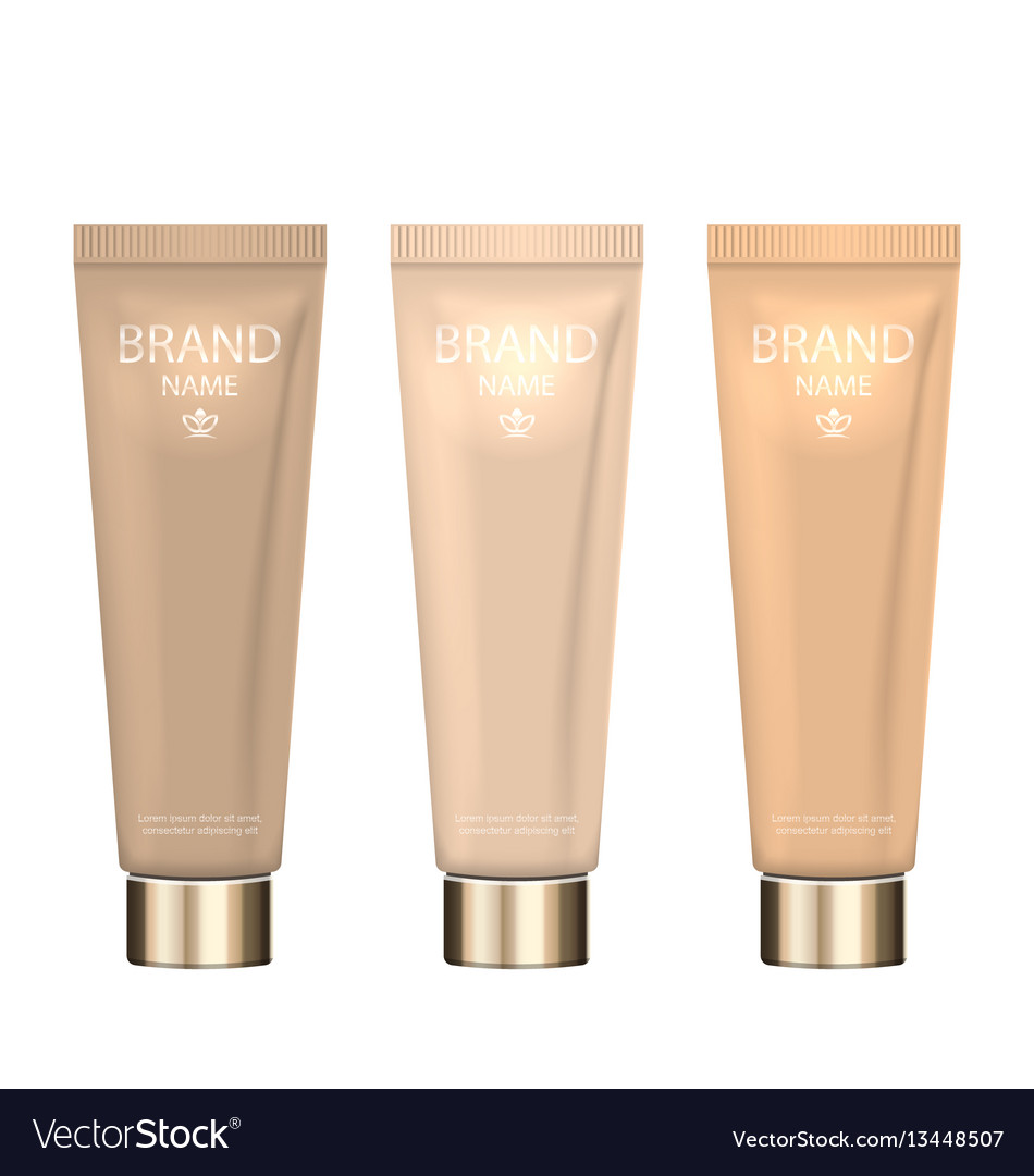 Set realistic packages of foundation with