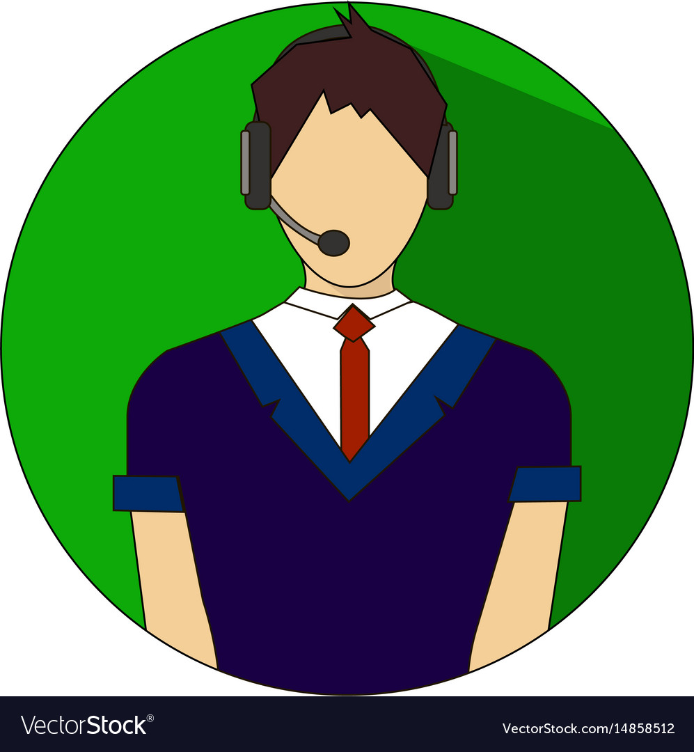 24h all the time customer support center vector image