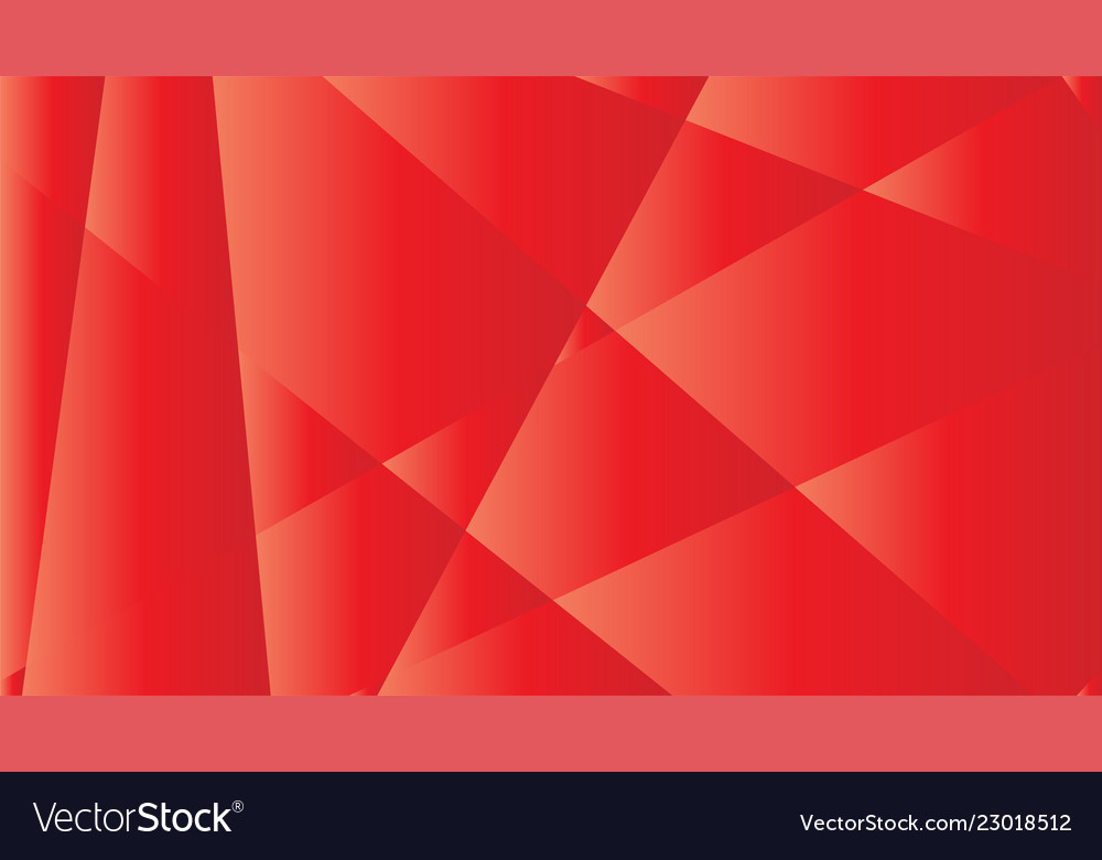 Abstract background with a red triangle gradient