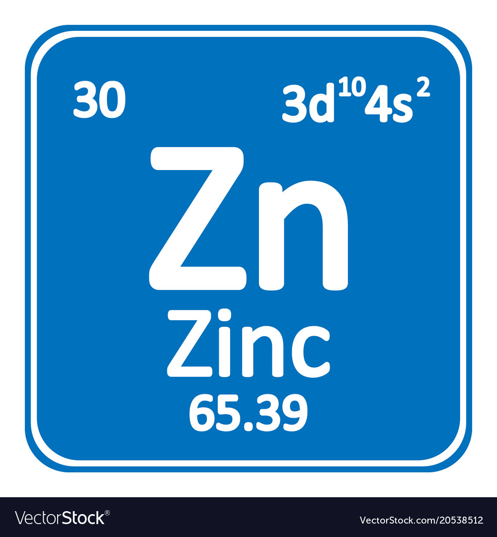Periodic table element zinc icon royalty free vector image periodic table element zinc icon vector image urtaz Choice Image