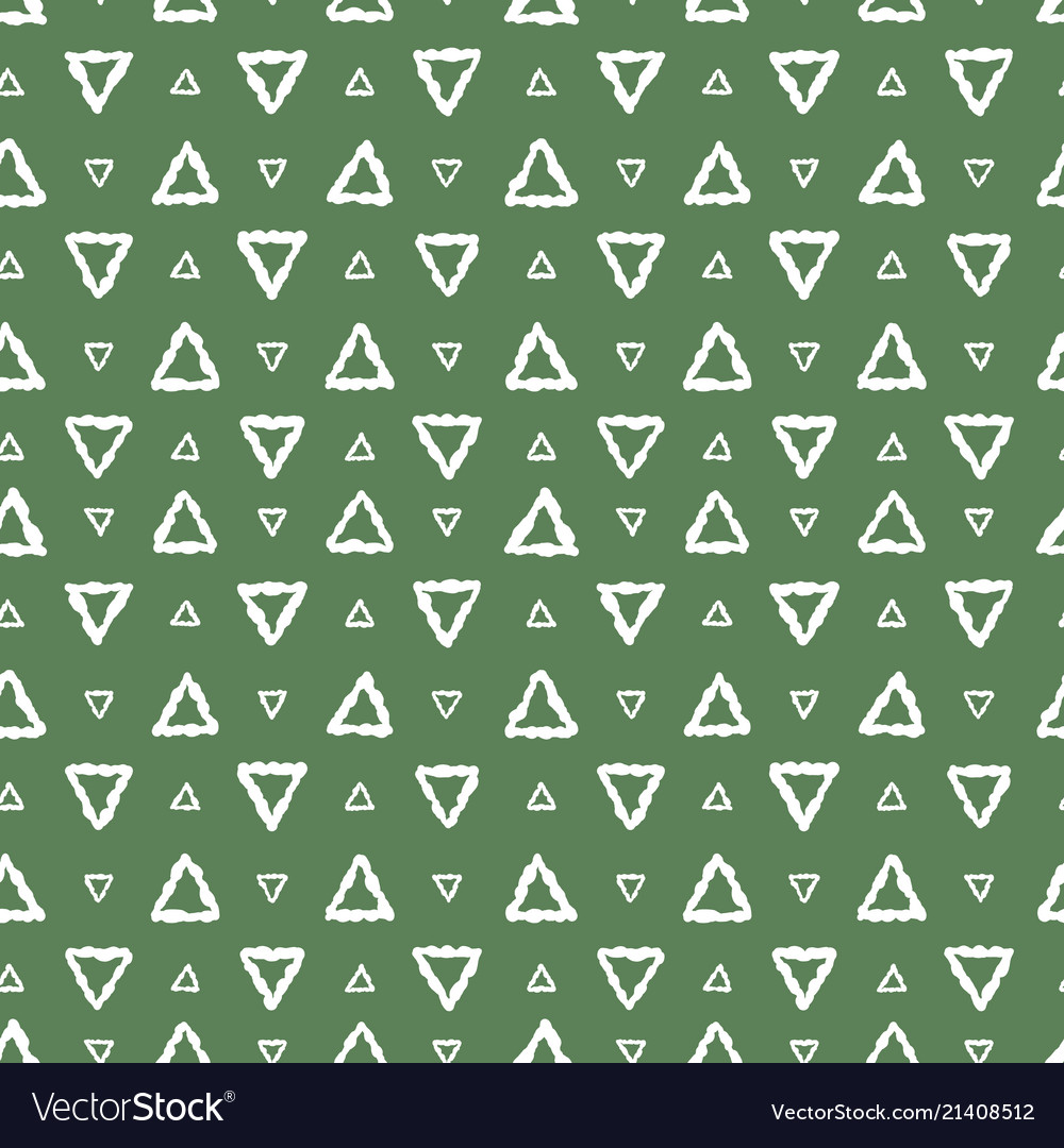 Simple seamless pattern abstract triangles