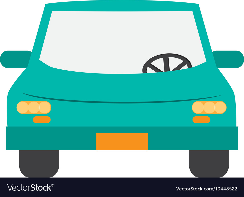 Car frontview icon