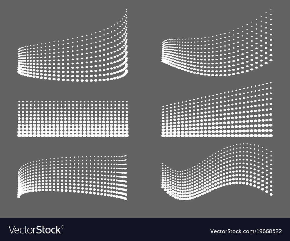 Design lines of dots background