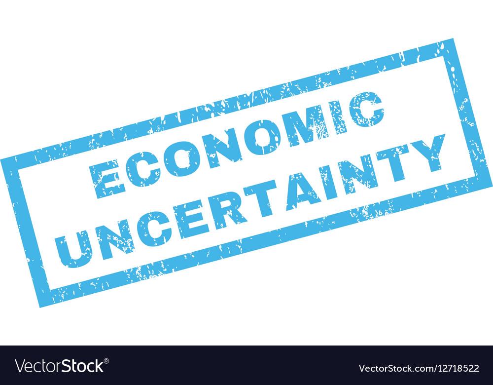 Economic Uncertainty Rubber Stamp