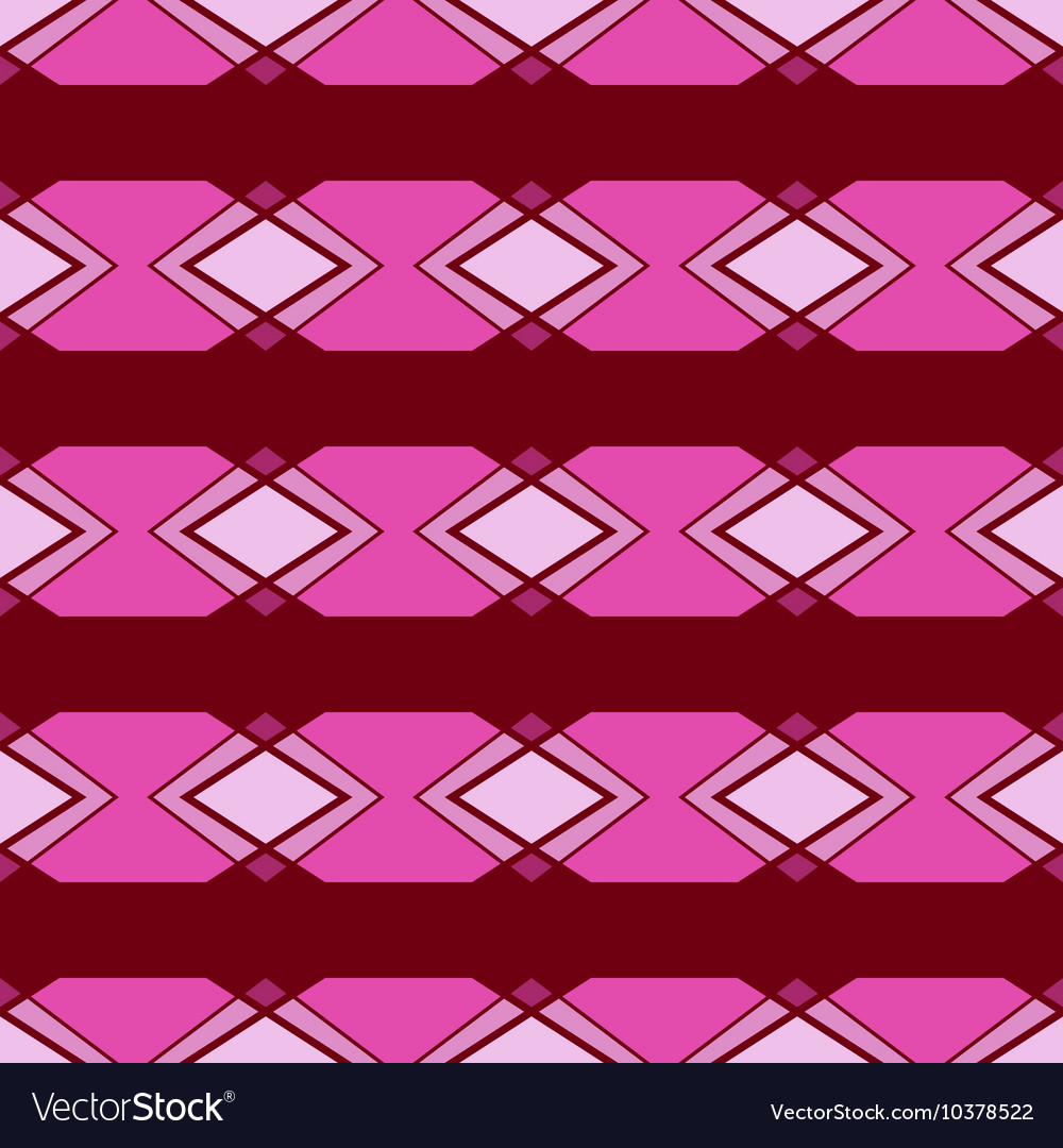 Seamless ornament Pink color