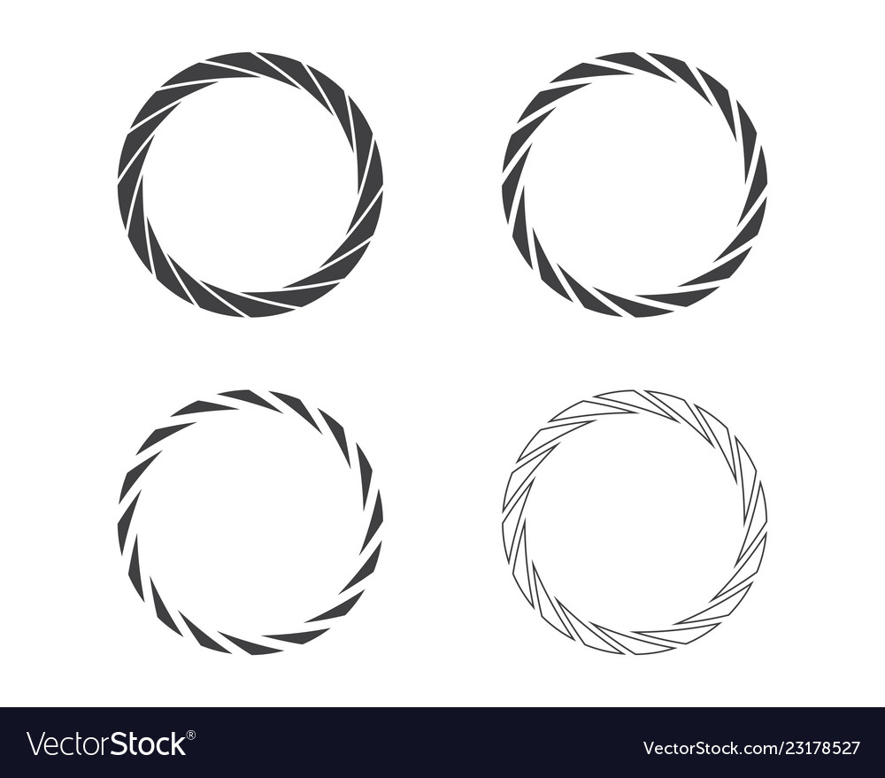 Abstract round shapes