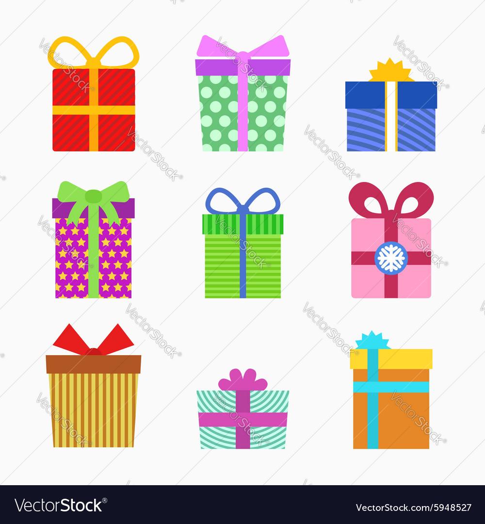 Gift symbol set