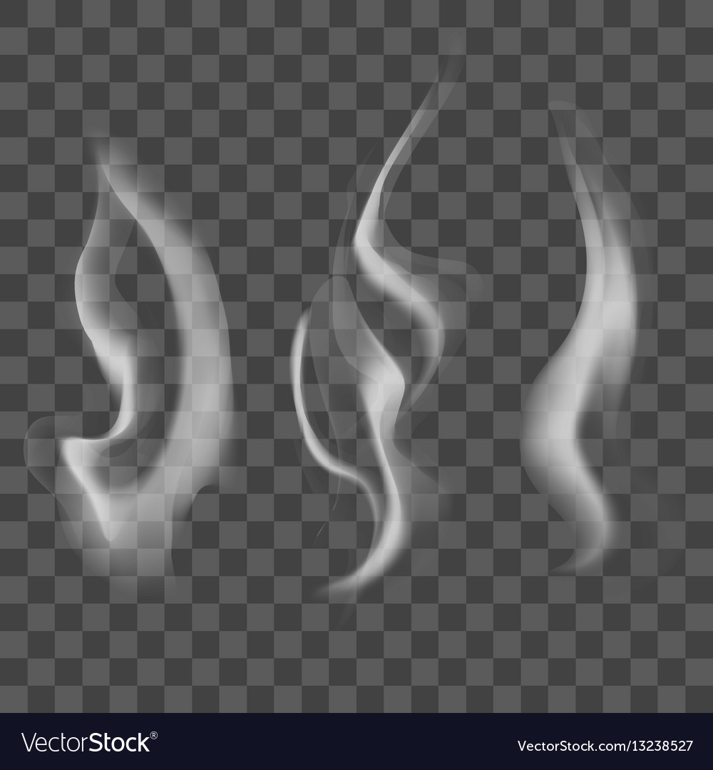 Realistic steam or smoke texture set