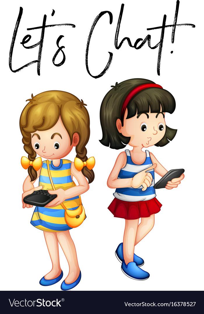 With girls chat iChatzu
