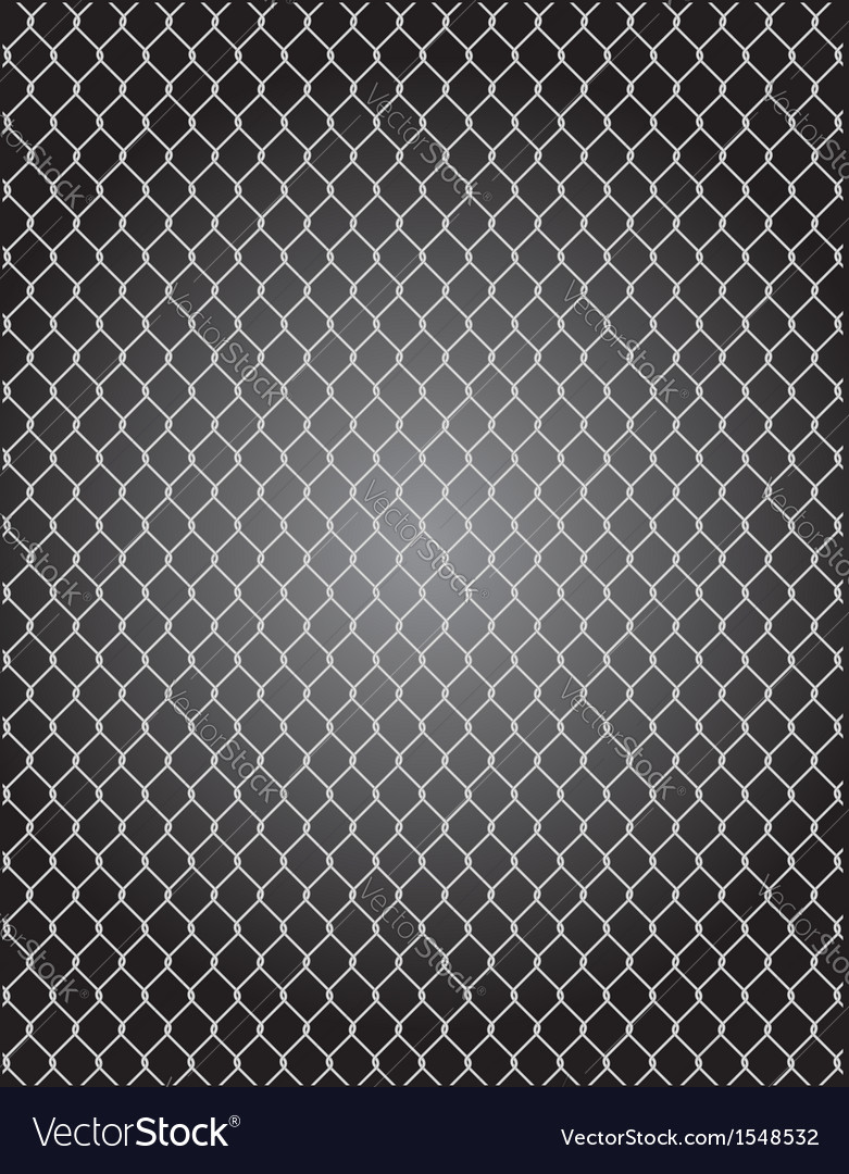 Mesh wire for fencing Royalty Free Vector Image