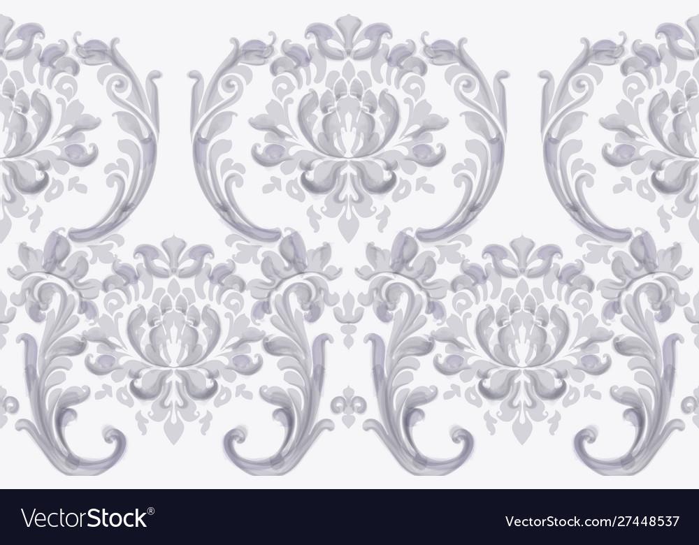 Rococo texture pattern