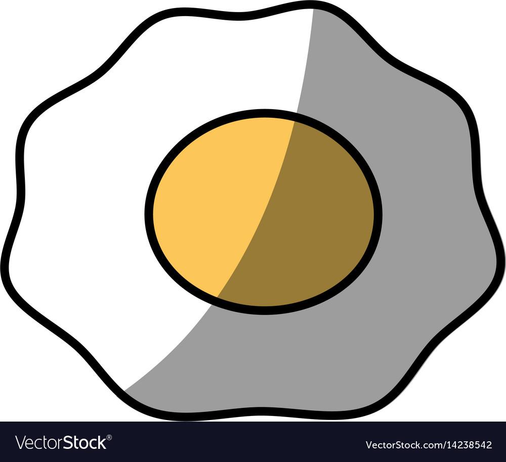 Fried egg breakfast food