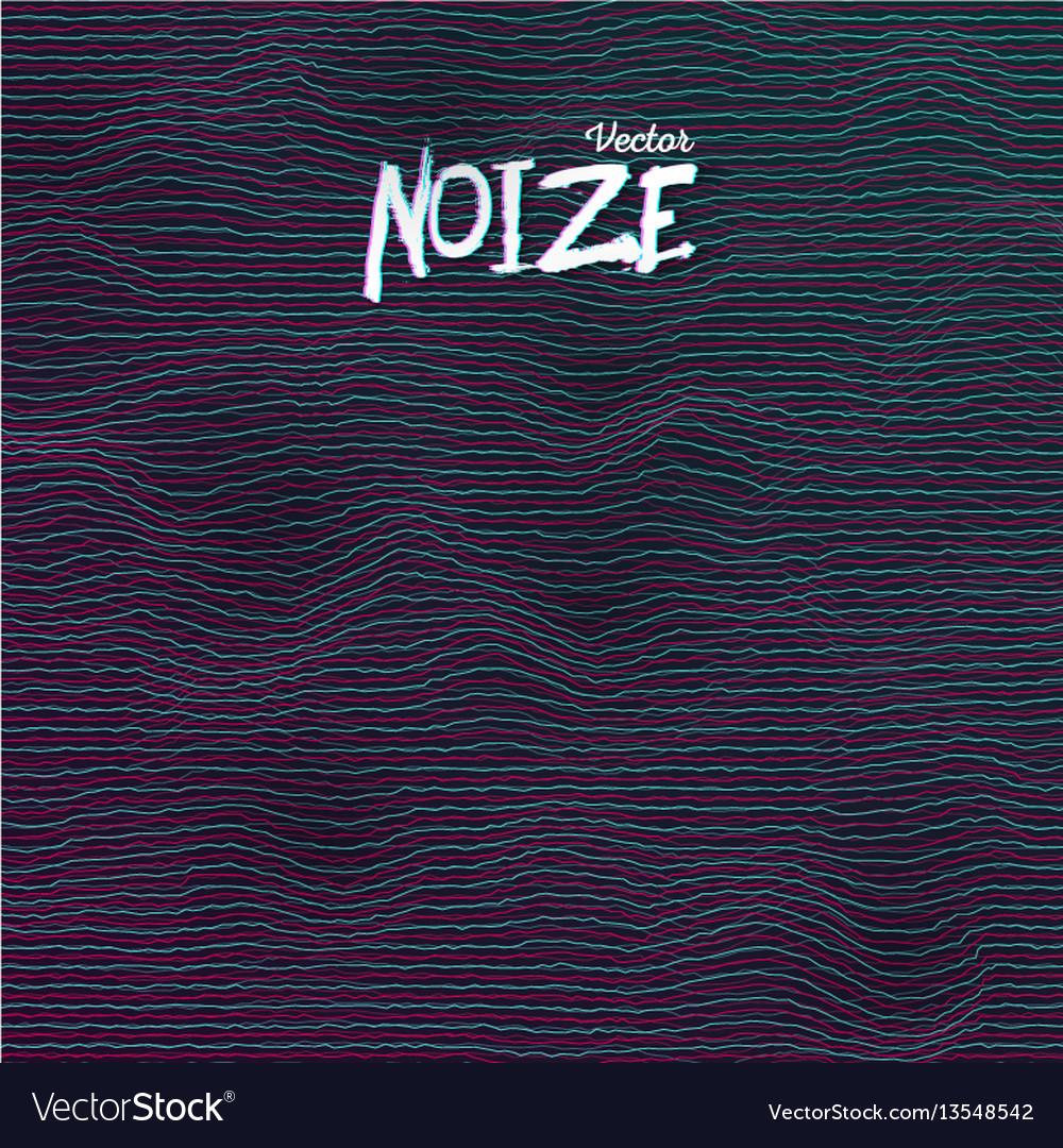 Sound noize waves