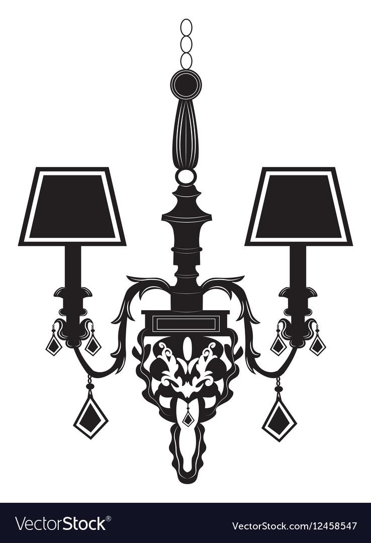 Baroque Elegant Rich Wall lamp