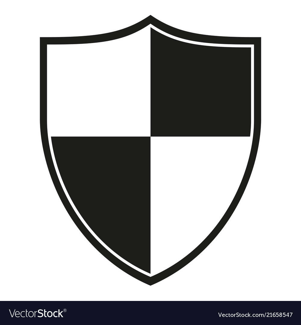 black and white shield logo wwwtopsimagescom