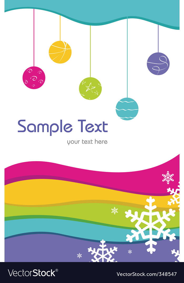 Sample card