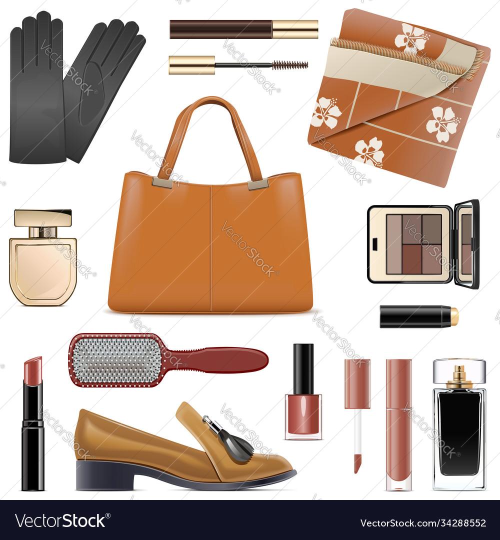 Autumn female accessories