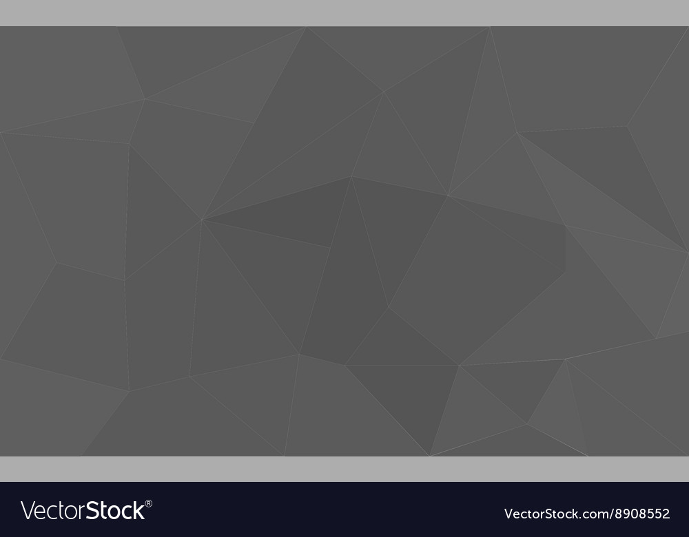 Grey triangle structure abstract background