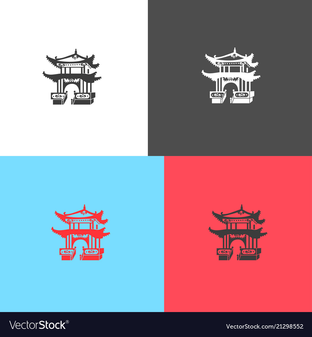 Icon of japanese architecture