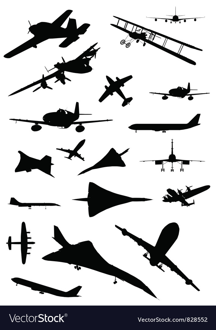Vintage Plane Silhouette