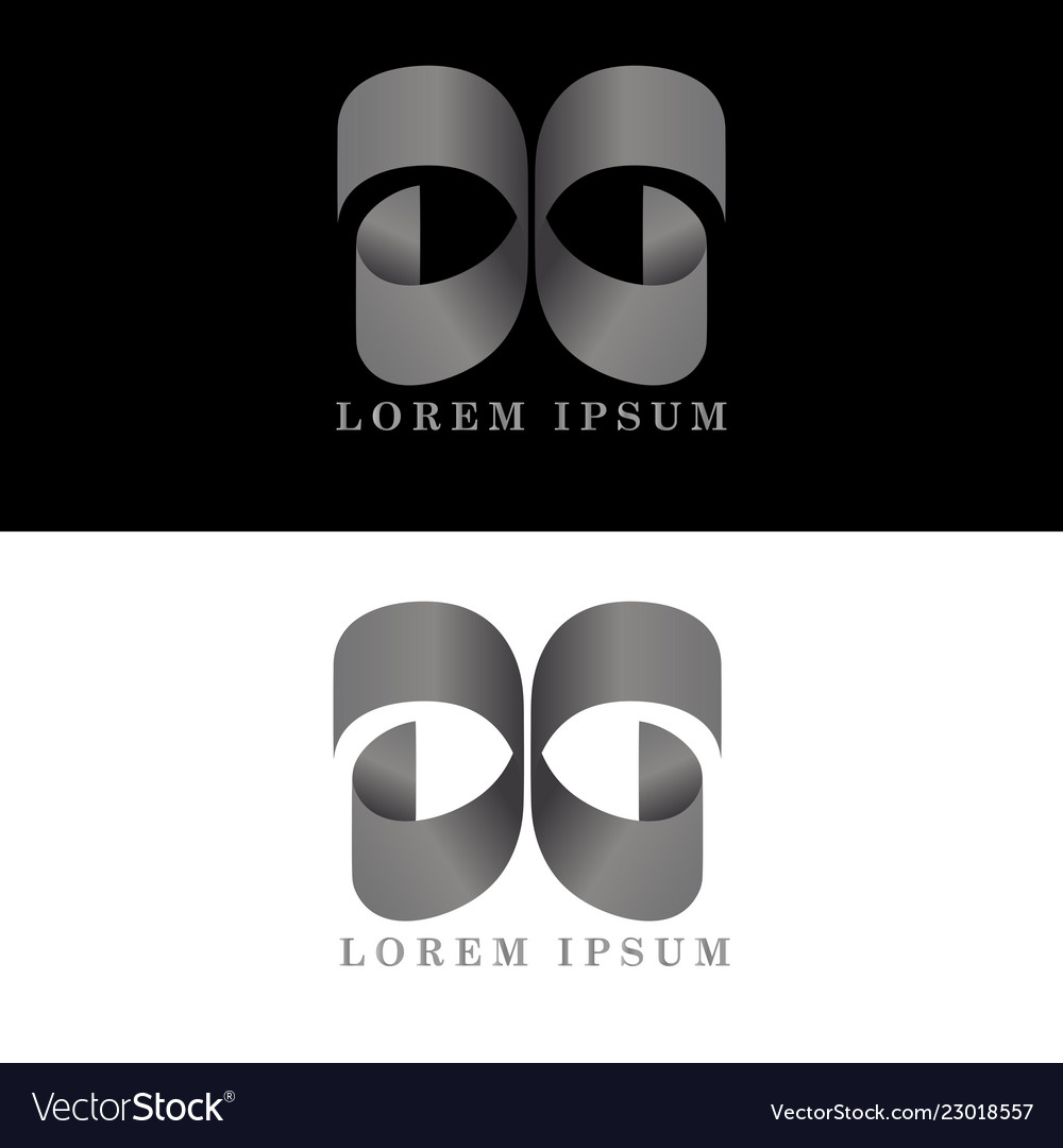 D g logo initial letter design template