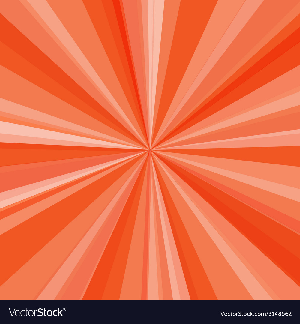 Orange rays background for your bright beams