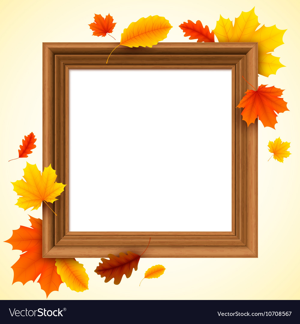 Autumn Picture Frame