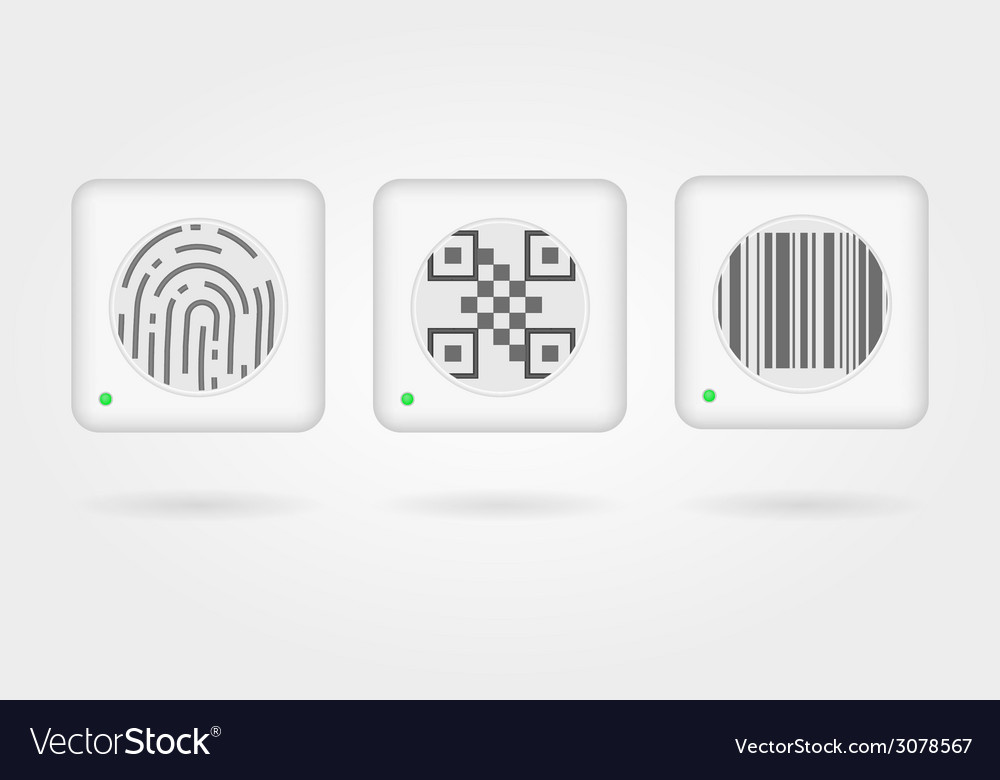Interface elements for web payment vector image