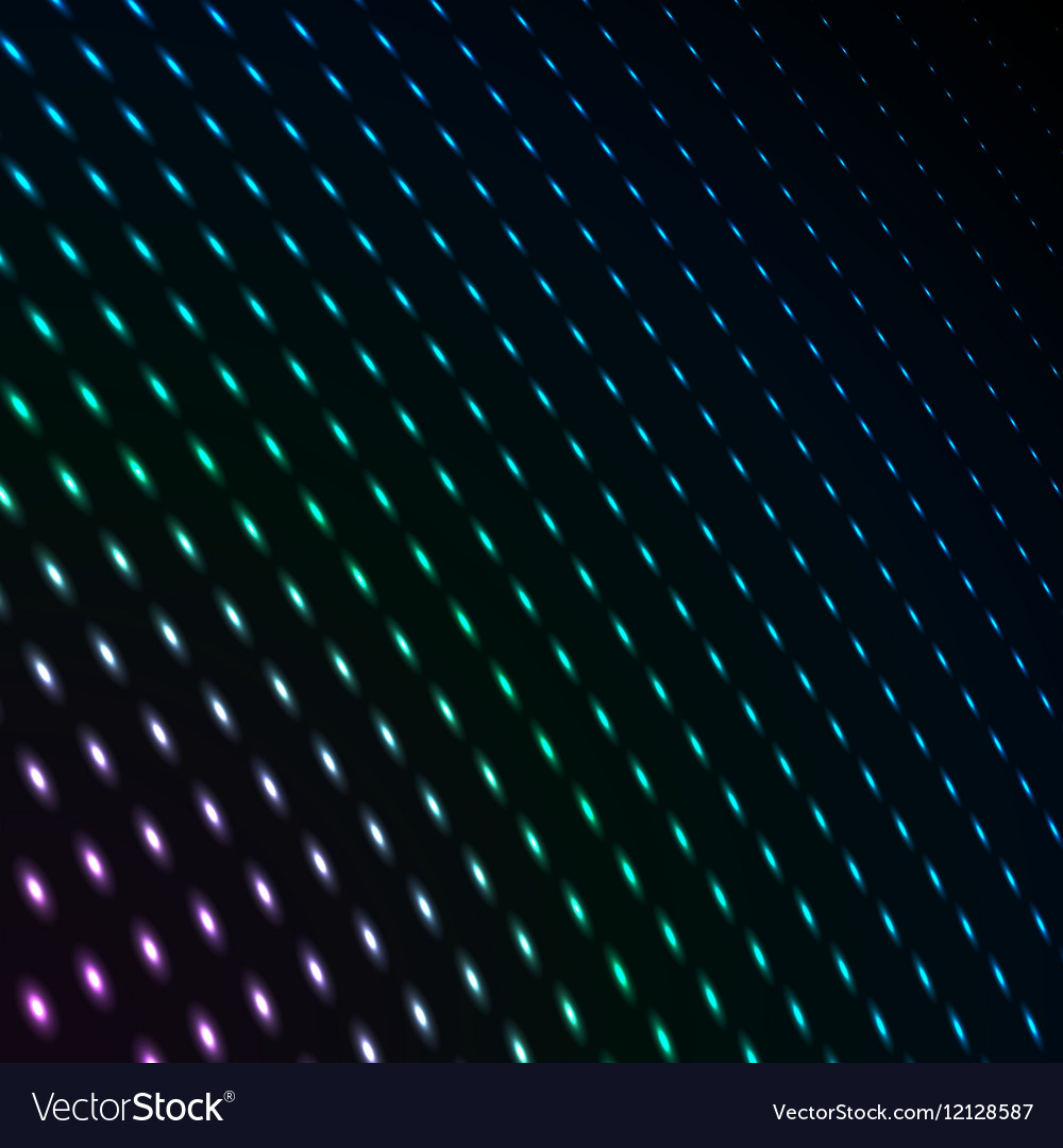 Abstract blue color neon dots dotted technology