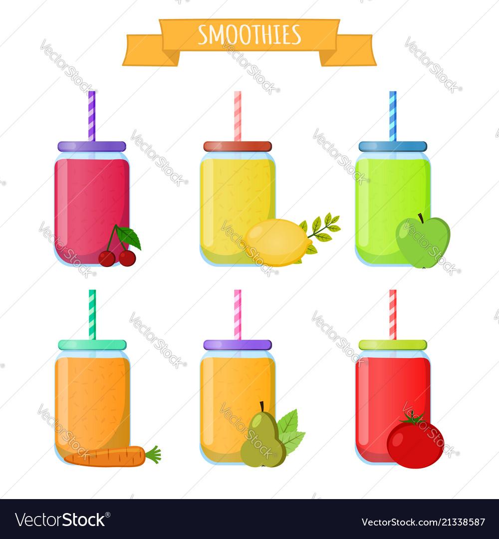 Smoothie to go take away organic shake drink