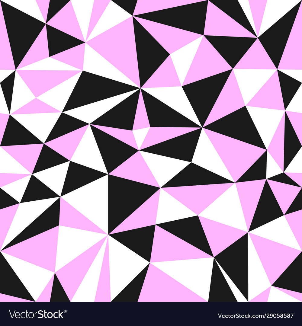 Style female geometric seamless pattern from