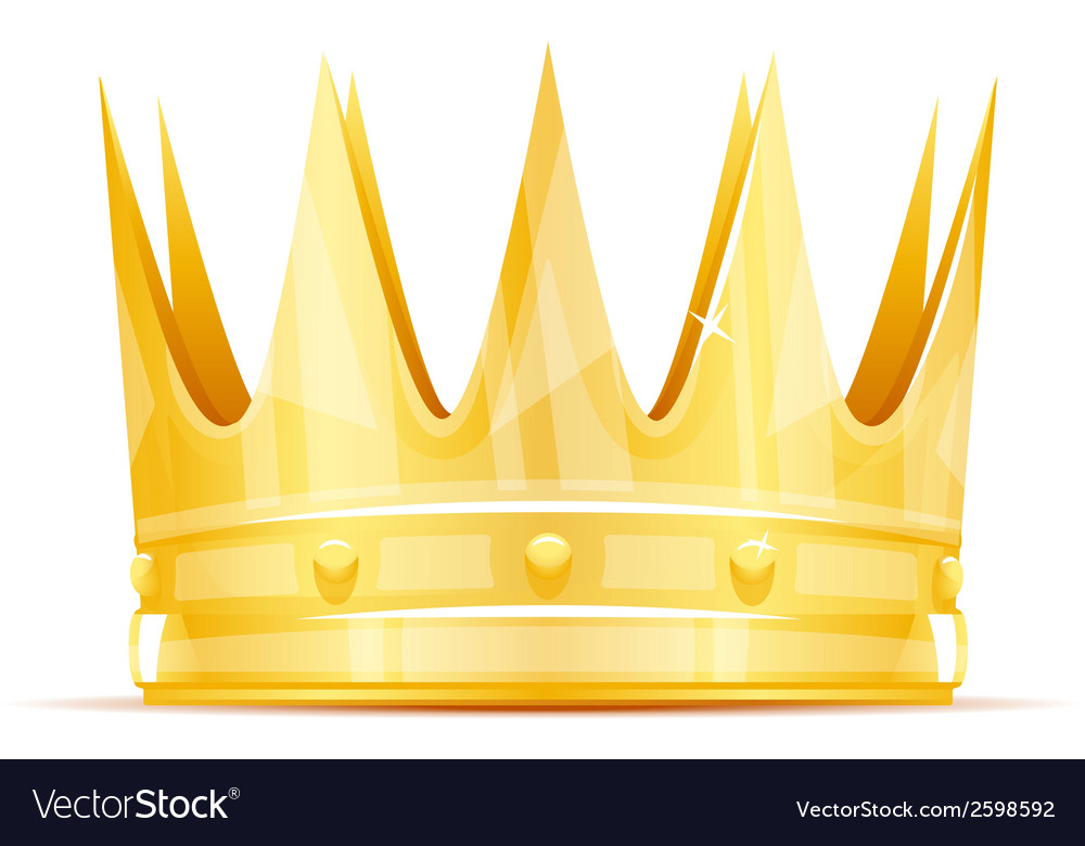 King crown royalty free vector image vectorstock king crown vector image thecheapjerseys Choice Image
