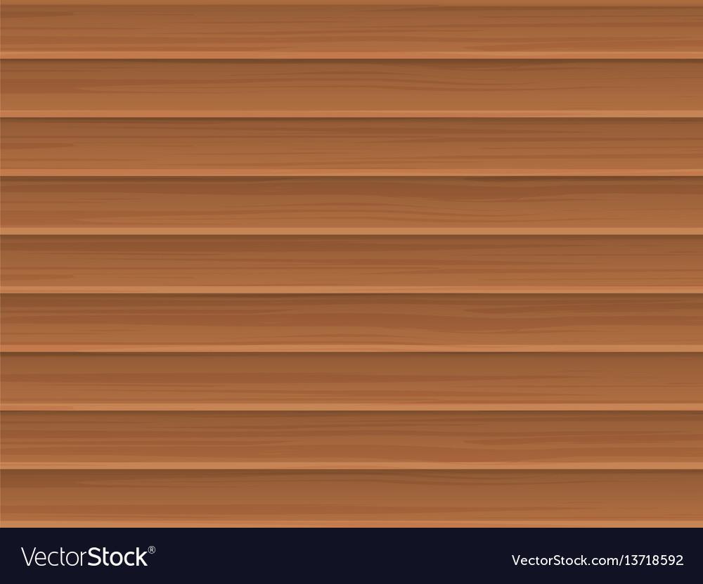 Wooden blinds vector image