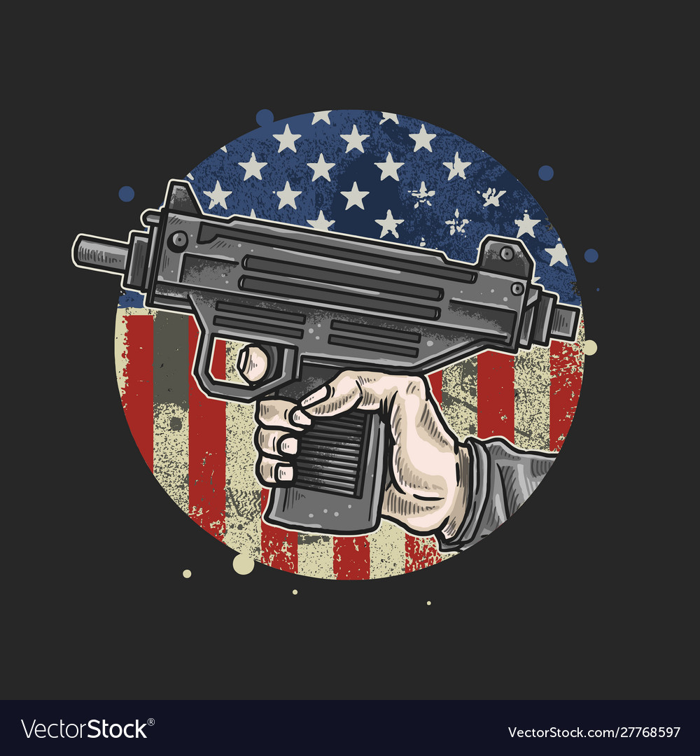 American hand use weapon