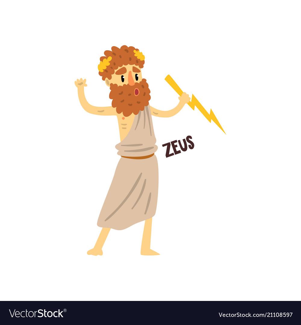 Zeus Supreme Olympian Greek God Ancient Greece