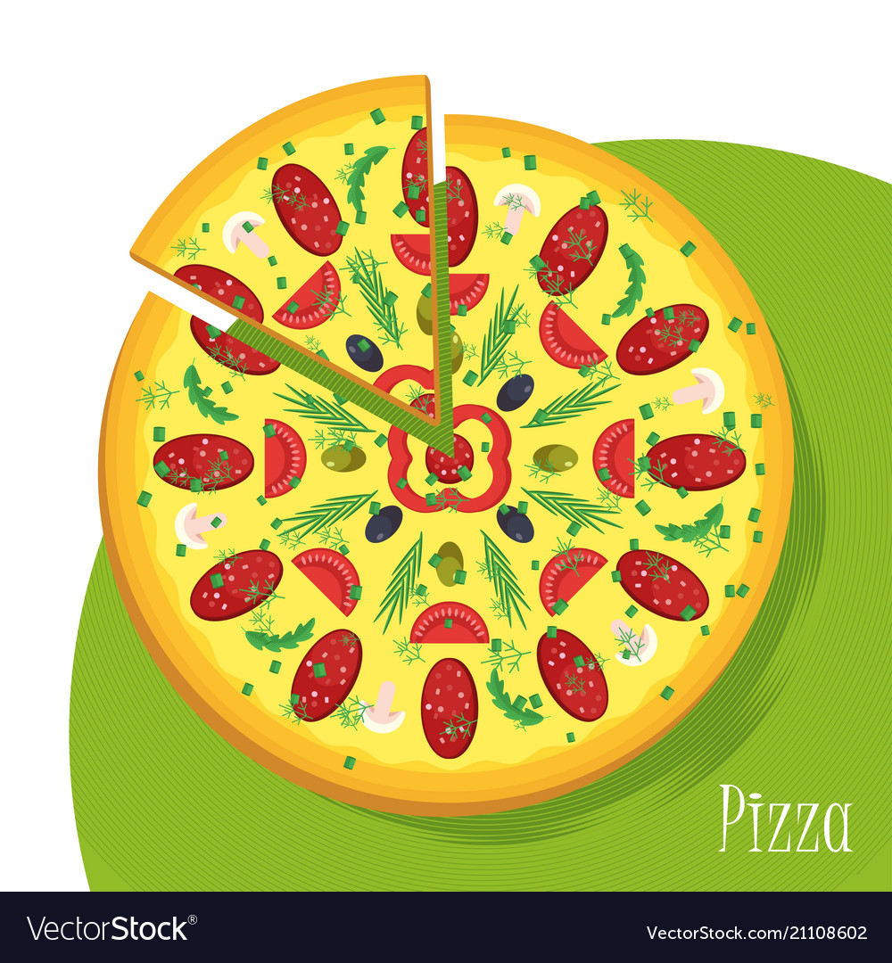 Big pizza poster