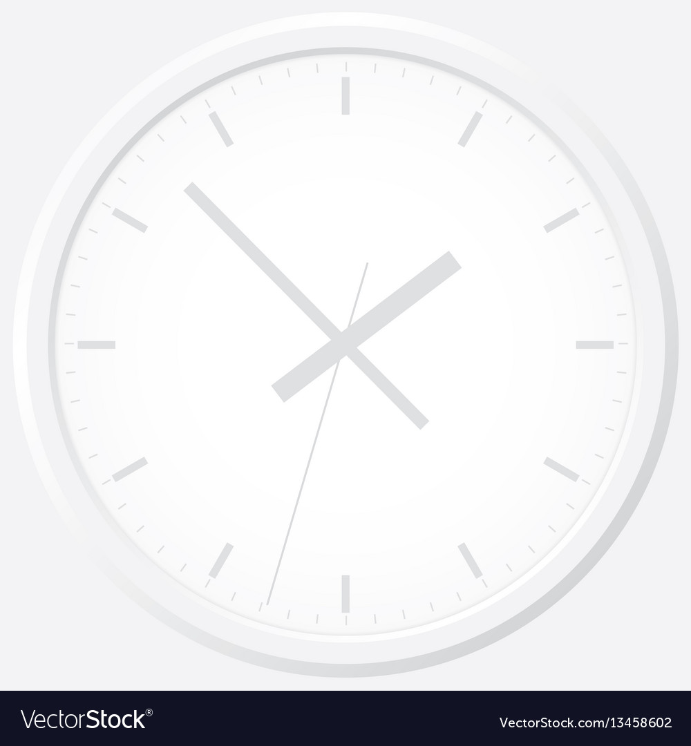 Clock flat icon world time concept