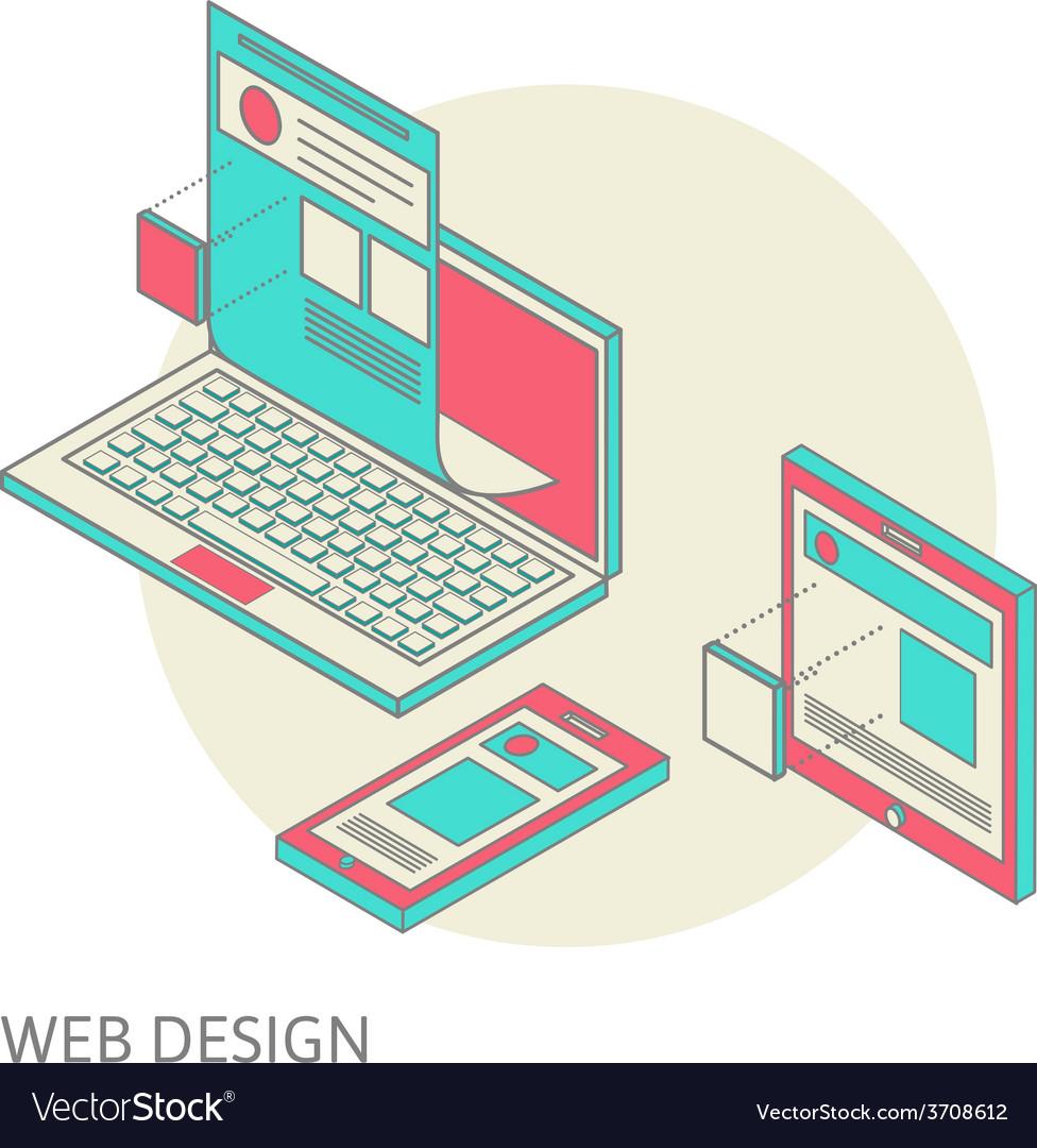 Mobile and desktop website design development