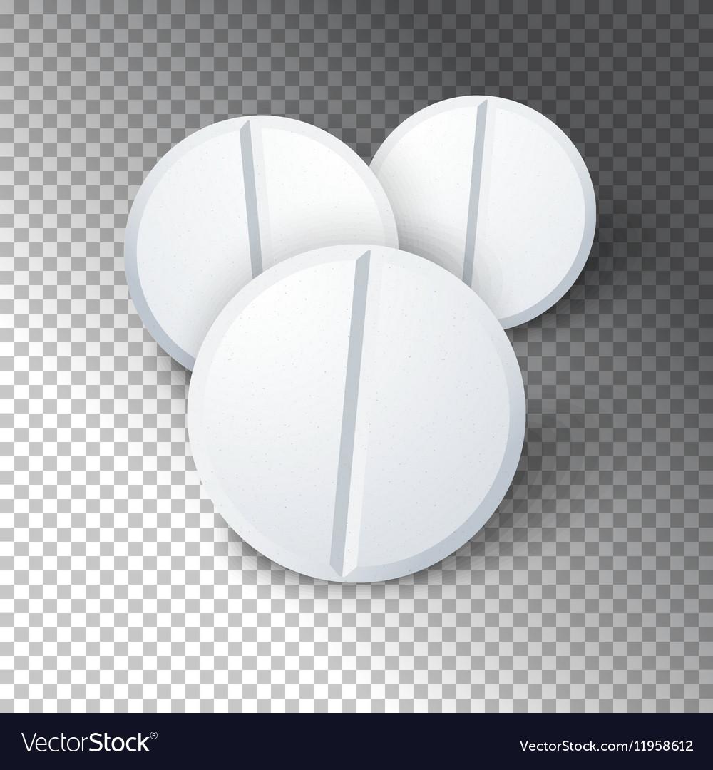Photorealistic Medicine Pill Pharmacy Advertizing