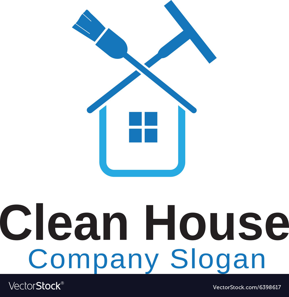 Clean House Design vector image