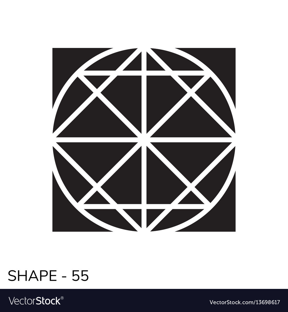 Simple geometric shape