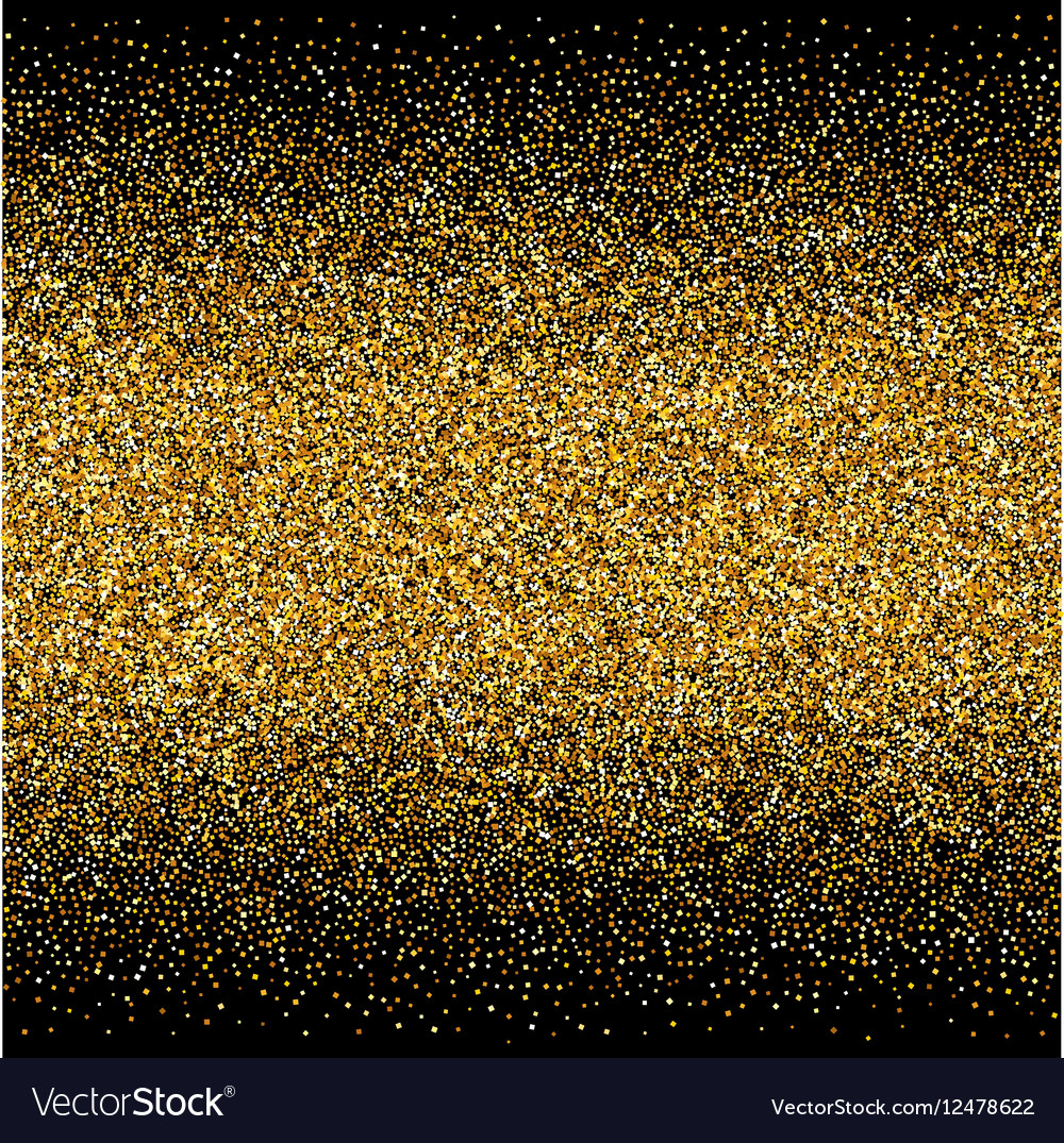 Background with gold gradients texture on black