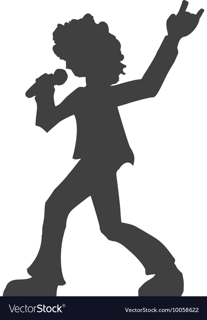 Musician icon Rock music design graphic vector image