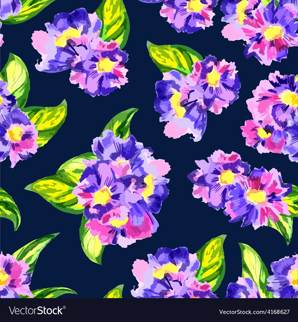 Watercolor pattern