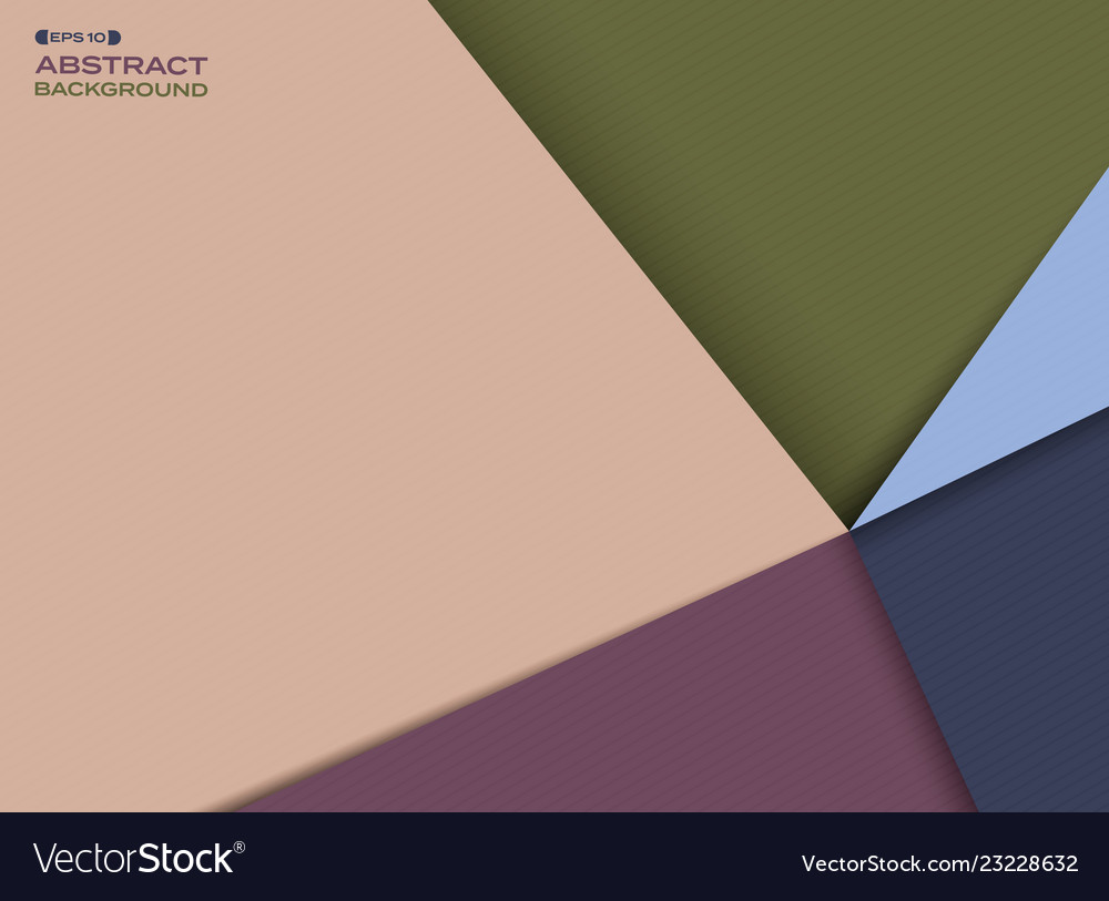 Abstract of colorful flat simple pattern