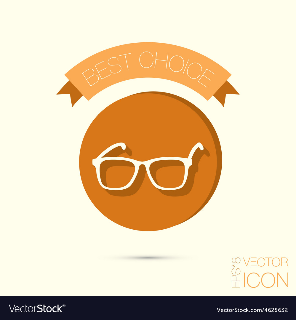 Glasses Icon eyeglasses sign