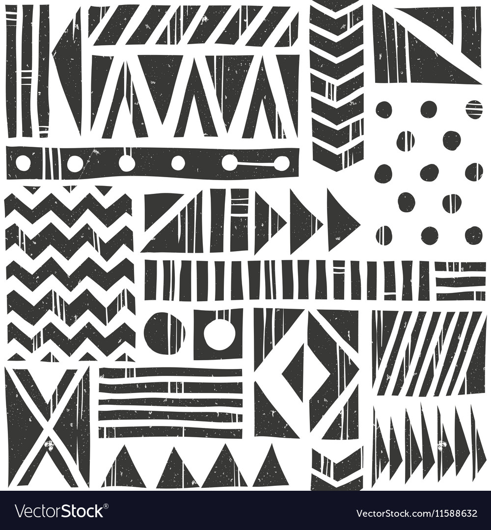 Seamless tribal pattern Abstract