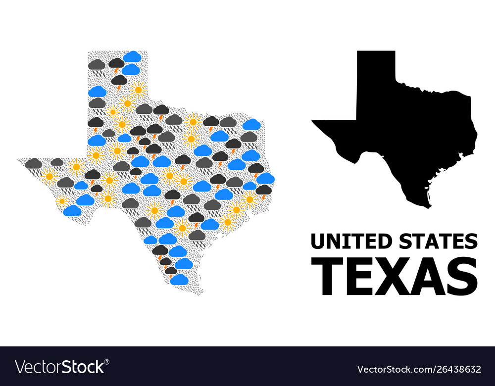 State Of Texas Weather Map.Weather Mosaic Map Texas State
