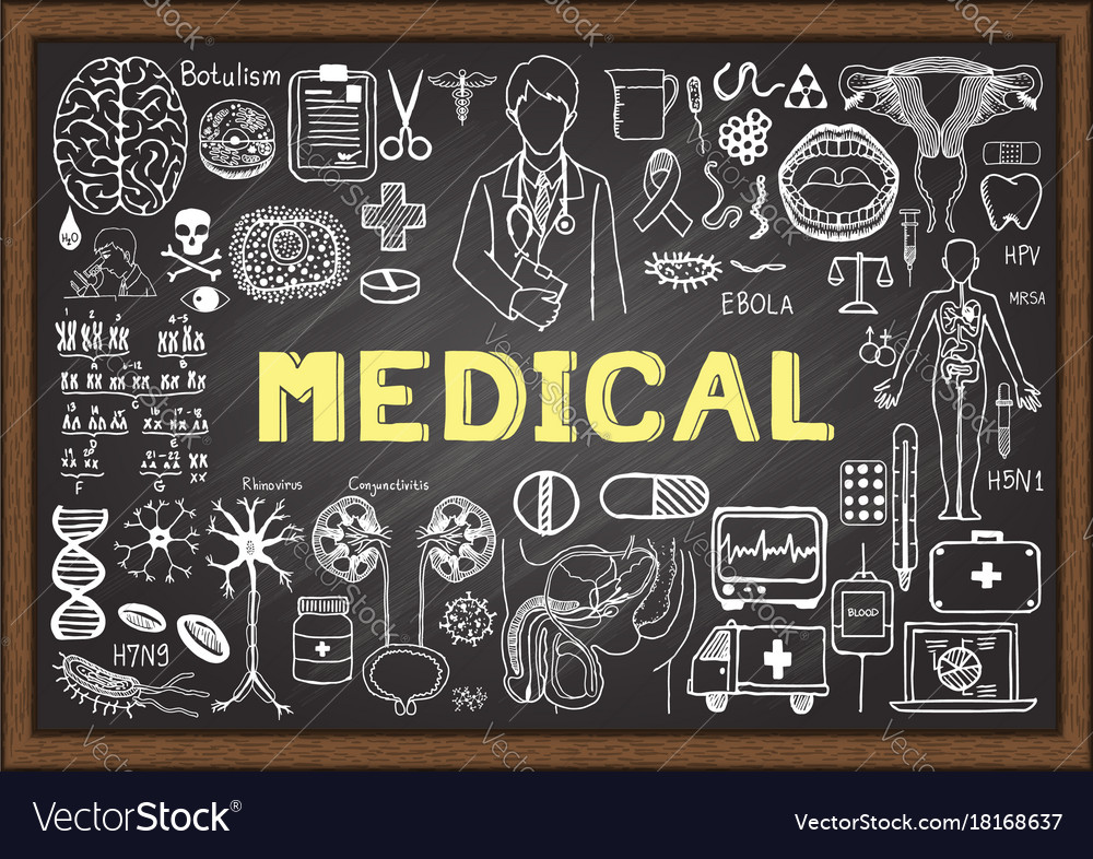 Medical vector image