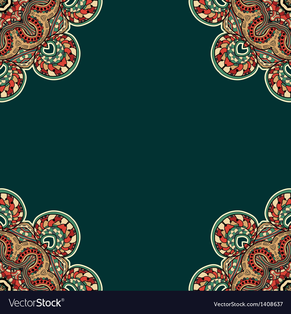 Ornate floral texture with ornaments and curls